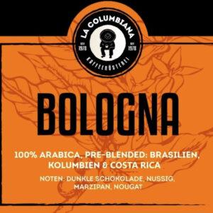 bologna_kaffeebohnen_arabica_lacolumbiana_kaffeerösterei_Jetzer_Bäckerei_Konditorei_Basel_Café_Confiserie_Feinbäckerei_Catering_Apéro_Partyservice
