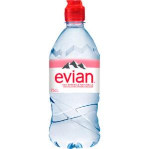 evian_mineralwasser_flasche_Jetzer_Bäckerei_Konditorei_Basel_Café_Confiserie_Feinbäckerei_Catering_Apéro_Partyservice