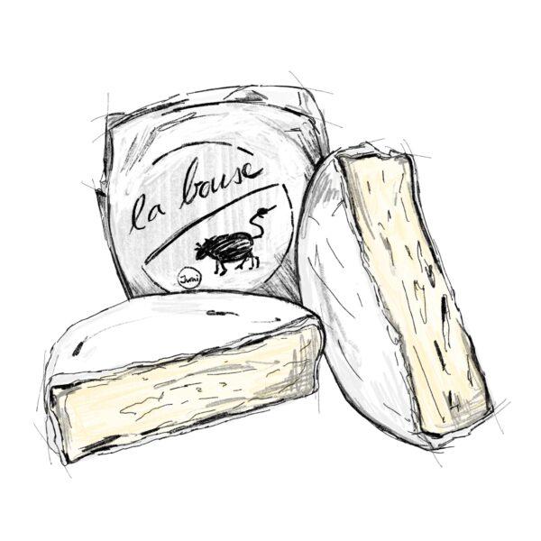 La Bouse_Weichkäse_Bäckerei_Basel